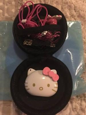 Mp3 Hello Kitty C/ Estuche