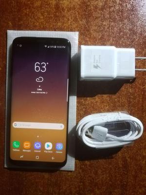 Samsung S8 Negro,libre 64gb IMPECABLE comprado en USA