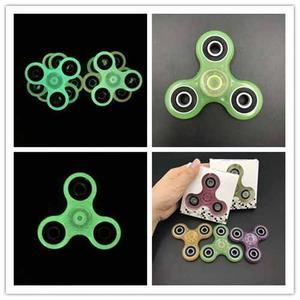 2 X S/50 Fidget Spinner Brillante Profe Plástico Edc