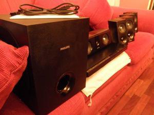 Cine En Casa Philips Smart  Watt 3d Karaoke Bluetooth Nf