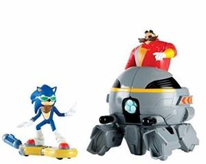 Juguete Sonic Vs Dr. Eggman - Tienda Jesus María