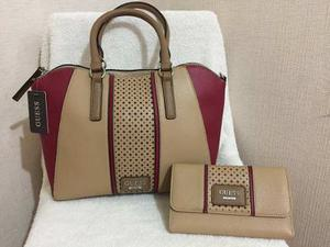 Linda Cartera Guess Y Billeteras Guess Original