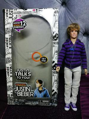 Muñeco de Justin Bieber