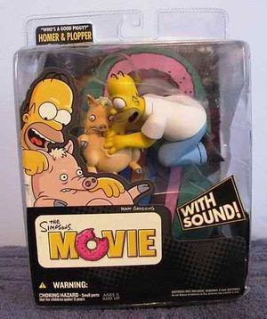 The Simpsons Movie Homero Figura Mc Farlane Con Sonido!