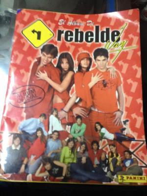 Álbum LLENO de REBELDE WAY