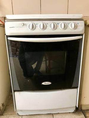 Cocina A Gas Whirlpool 4 Hornillas + Horno