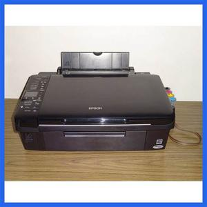 Epson Multifuncional Tx220, Sistema Continuo, Pantalla, Sd