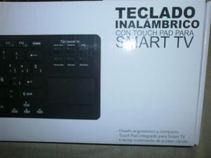 inalámbrico y touch pad ideal para smart tv