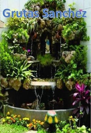 Cascadas artificiales y grutas para jardin posot class for Cascadas de piedra para jardin