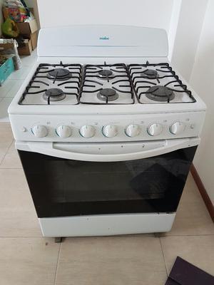 Super cocina mabe 6 hornillas bajo de precio posot class - Cocina con horno ...