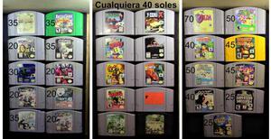 Juegos Nintendo 64 N64 A 35 Cu Dscto Al Comprar Posot Class