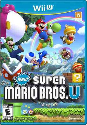 New Mario Bros U + Super Luigui Wii U