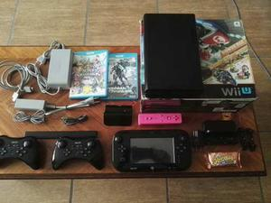 Nintendo Wii U 32gb Edición Mario Kart 8 + Accesorios