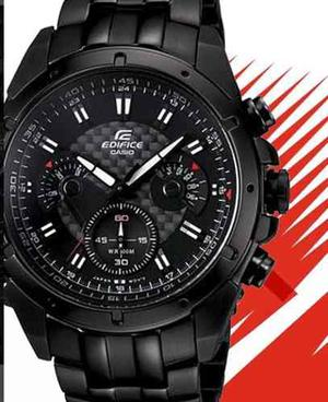 Reloj Casio Edifice 535bk - Original Sellado En Caja
