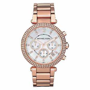 Reloj Michael Kors Mk Gold Rose - 100% Original Nuevo