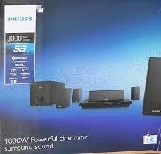 Cine En Casa 5.1 Philips Smart  Watt 3d Karaoke Bluetoot