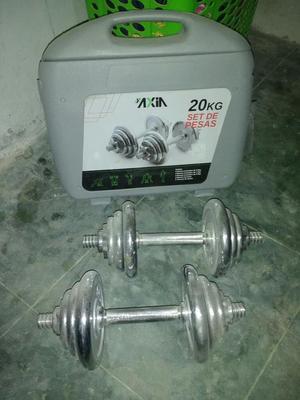 Venta de Pesas 20kg Nuevos