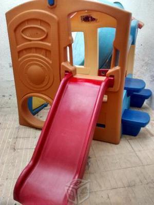 casa con resbaladera para niños step2 casita no little