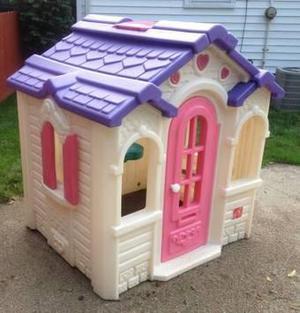 casa corazones barbie para niñas step2 no little tikes