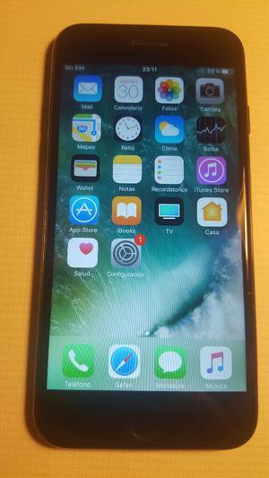 iPhone 7 con 128gb de Memoria, Negro