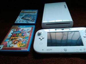 Consola Nintendo Wii U Con 2 Juegos