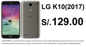 LG  K10 M250F A 129 SOLES EN PLAN CLARO MAX 119