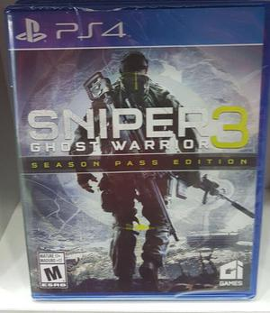 Sniper 3 Warrior Ps4 Nuevo Y Sellado
