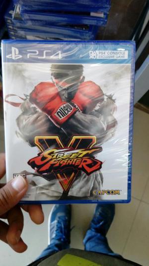 Street Fighter V para Play 4 Nuevo