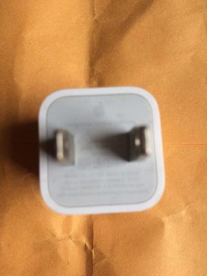 cargador cubo original de apple para iphone 5,5c,5s,