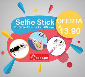 Selfie Stick Compatible Para Todos los Celulares Iphone y
