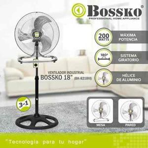 Ventilador Bossko 3 En 1.