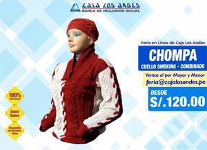 Feria en Linea de Caja Los Andes Prendas de Vestir 100 Piel
