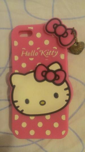 Funda para iPhone 5s Hello Kitty
