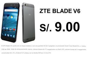 V6 ZTE BLADE S/.9 Plan CLARO MAX 79