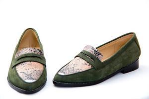 Mocasines - Zapatos De Diseño 100% Cuero - Liquidación