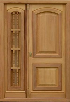 Modernos espejos con finos marcos de madera posot class for Modelos de puertas principales