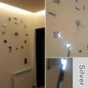 Reloj de pared moda diy 3d para sala cocina posot class - Reloj de pared para cocina ...