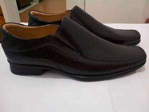 Zapato De Cuero Negro Talla 43 Marca Jaroni