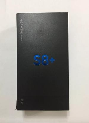 Samsung Galaxy S8 Plus 64gb Negro Nuevo Libre Sellado