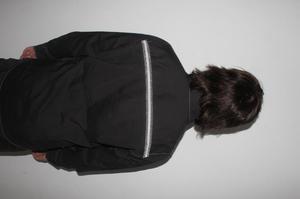 camisa negra kenneth cole rockstar talla M