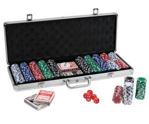 Poker de 500 Fichas de Aluminio