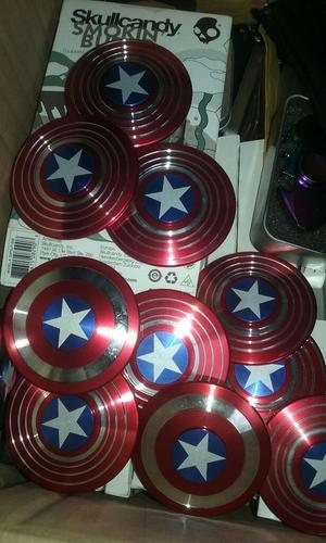 Spinner Capitán América