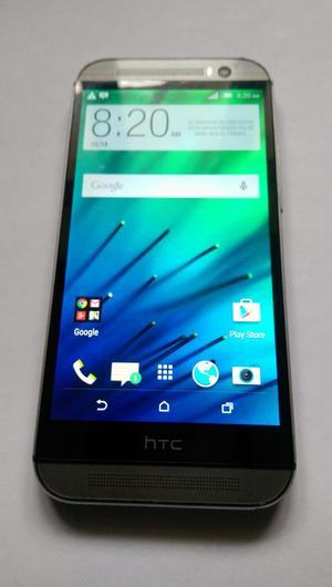 HTC M8 en buen estado  libre para todo operador