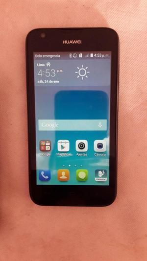 Huawei y550 libre para cualquier operador 4G con protector