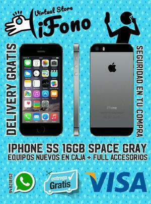 Iphone 5s 16gb Nuevos En Caja Sellada 02 Regalos