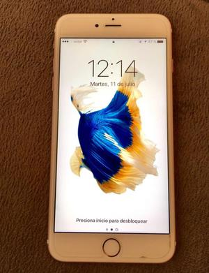 Iphone 6s plus 16gb color oro rosa