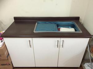 Mueble de melamina para lavadero de cocina posot class - Mueble botellero cocina ...
