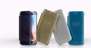 Protector Flip Cover Clear View Samsung S6