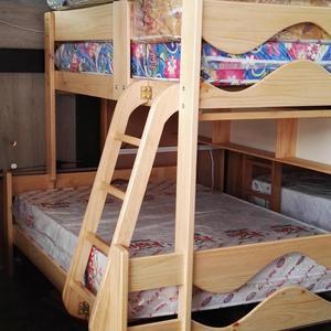 Lindo camarote de 2 plazas pino posot class for Sillon cama de una plaza y media