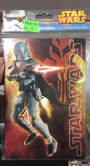 Block de Notas de Boba Fett Star Wars